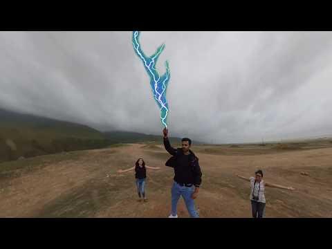TRAVEL STARS  Thor Lightening Effect.