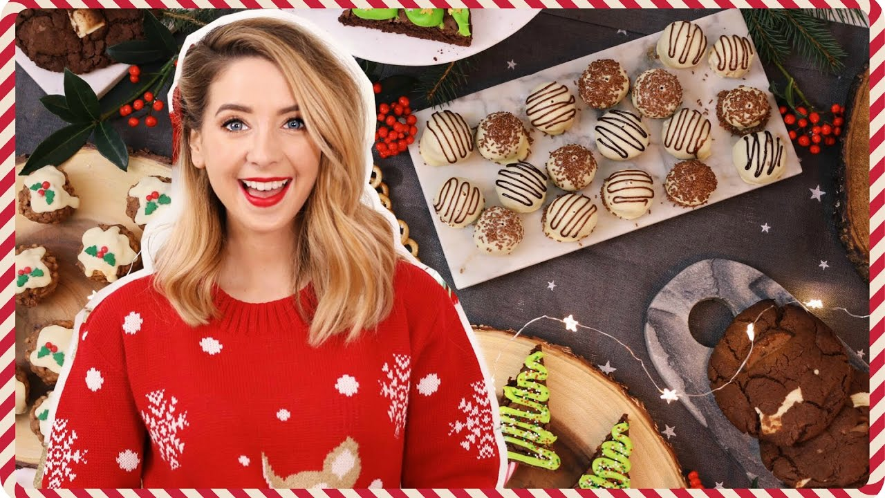 Quick & Easy Festive Treats | Zoella - YouTube