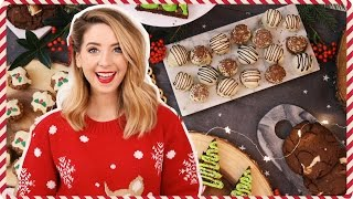 Repeat youtube video Quick & Easy Festive Treats | Zoella