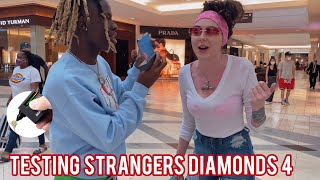 Testing Strangers Diamonds 😭💎 Pt. 4 - Atlanta Mall Edition | Public Interview