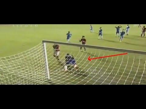 Detik - Detik Kiper Puerto Rico Menabrak Gawang | Indonesia vs Puerto Rico (13/06/2017)
