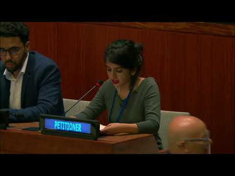 Navjot Pal Kaur Statment on Western Sahara at the 4th Committee ( Decolonization Committee)