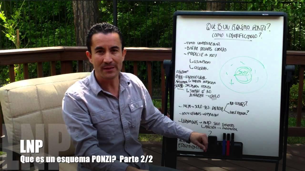 248 Que es un esquema Ponzi ? Como distinguirlo? Parte 2de2 por Luis R Landeros