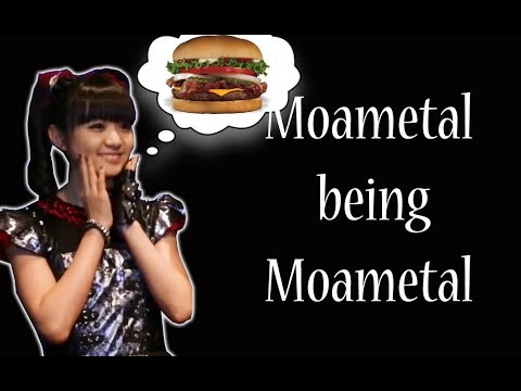 Moametal being Moametal - Staring at Sumetal's hair + Food Expert