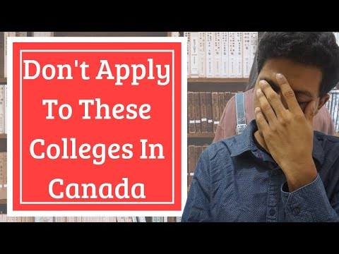 ⚠️ Don't Apply To These Colleges In Canada ⚠️ Your Work Permit Will Be Rejected