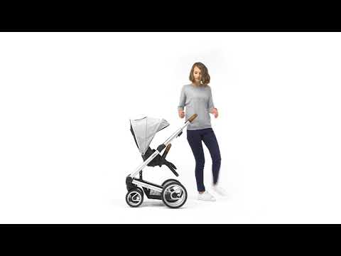 Mutsy Промо пакет Шаси със светлокафява дръжка + Кош за новородено + Седалка и сенник i2 Pure Fog #EvLdxEGMbTc