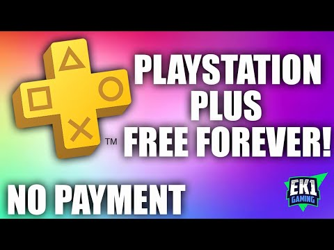 FREE PSN Forever! No Payment Method Needed!