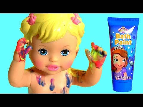 Little Mommy Bubbly Bathtime Color Changing Baby Doll