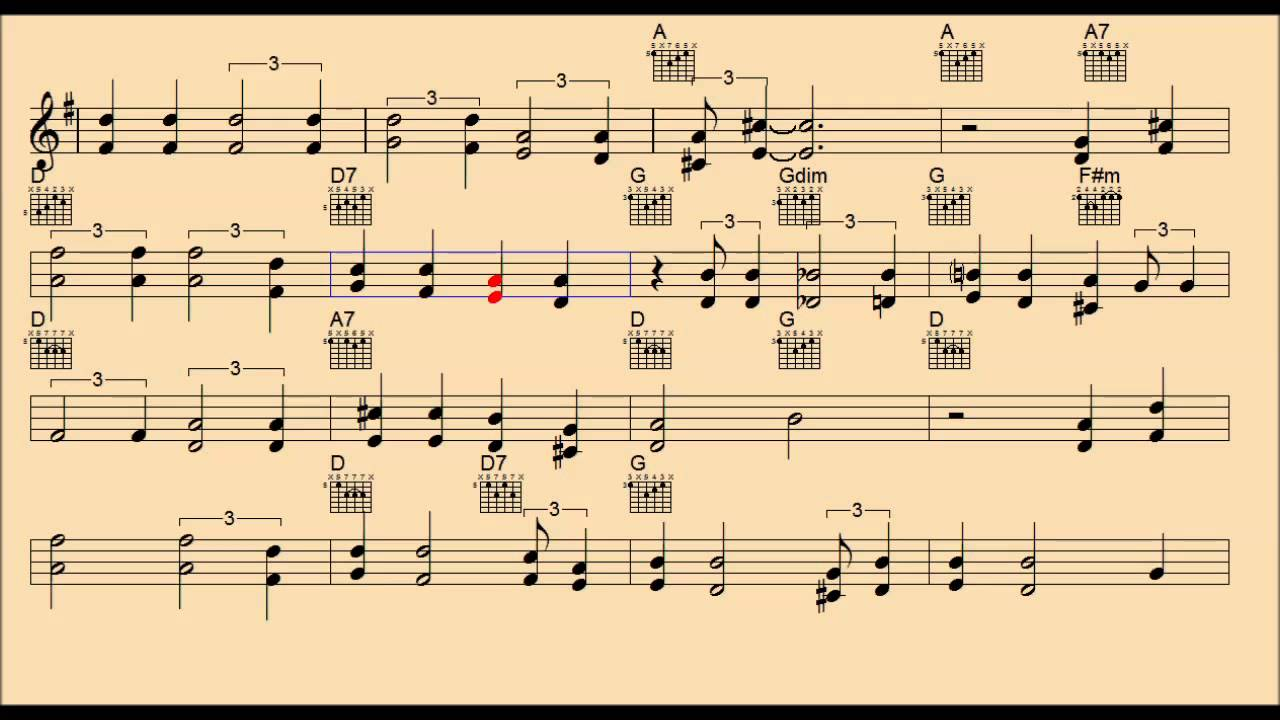 Green Green Grass of Home - Melody/Backing Track/Chords/lead sheet