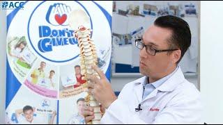 [ACC] Thoái hóa cột sống là gì và điều trị ra sao? - Chia sẻ từ Bác sĩ Eric Balderree