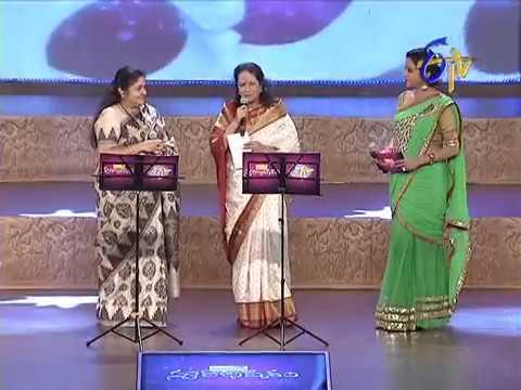 Swarabhishekam - స్వరాభిషేకం - Vani Jaram & Chitra Performance - 8th Dec 2013