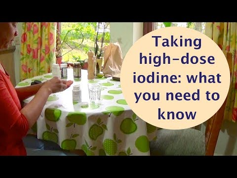 Taking high-dose iodine – what you need to know