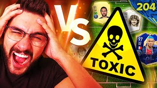 I PLAYED AGAINST THE MOST TOXIC OPPONENT EVER & GOT SOOO ANGRY!! MY FIFA 21 WL GONE WRONG