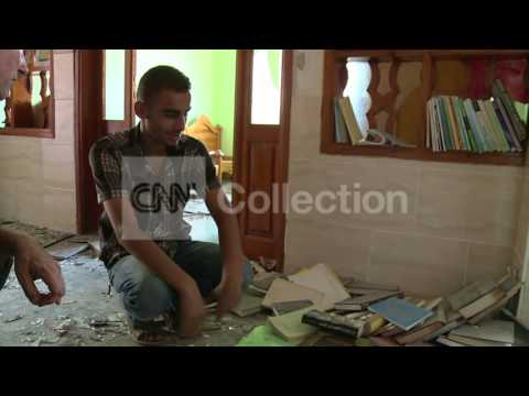 GAZA:PRAYERS AND DREAMS AMID THE RUBBLE