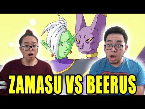 DRAGON BALL SUPER English Dub Episode 59 BEERUS VS ZAMASU REACTION & REVIEW