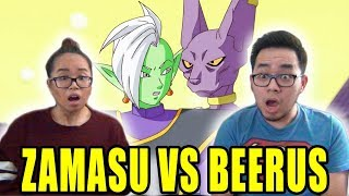 DRAGON BALL SUPER English Dub Episode 59 BEERUS VS ZAMASU REACTION & REVIEW