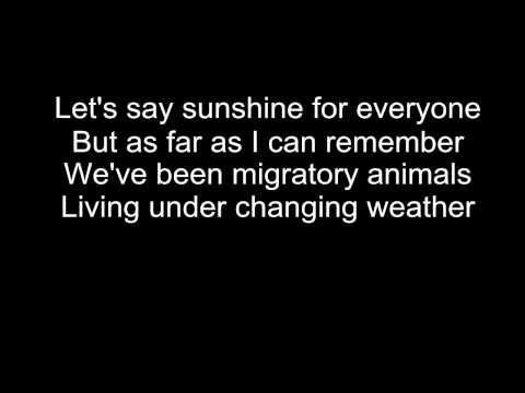Syd Matters-Obstacles lyrics