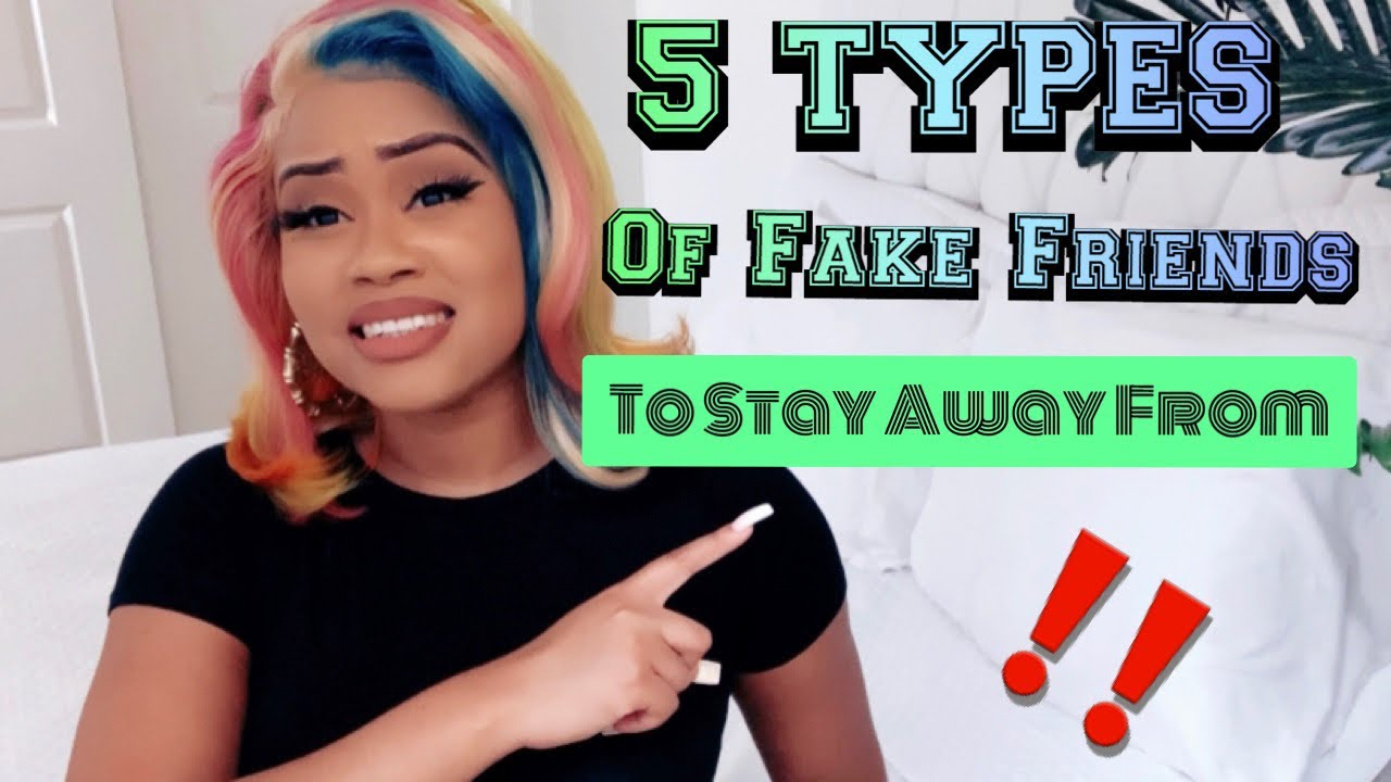 5 Types Of FAKE Friends To Stay Away From Sis 🤦‍♀️🙄💯| (( Must Watch)) | Best Advice Ever 👏
