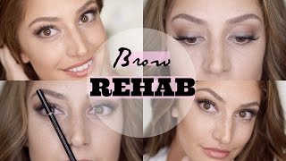 Rehab Your Brows! || Tips & Tricks to Grow Back Perfect Eyebrows