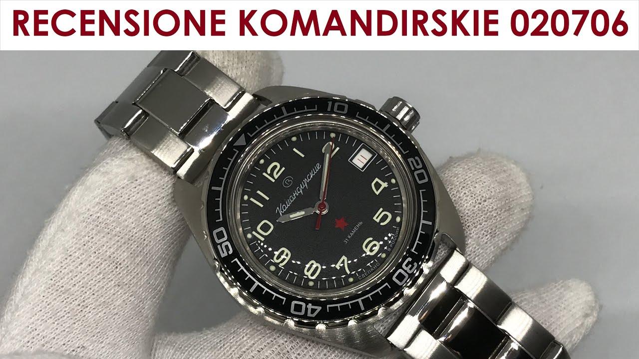 RECENSIONE (REVIEW WITH ENG SUB) Vostok Komandirskie 020706