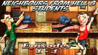 Neighbours From Hell 8 Students - Episodes 1-4 [100% walkthrough]