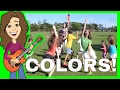 Colors Song । Color Dance for Children। Nursery Rhyme Songs for kids । Patty Shukla - DVD Version