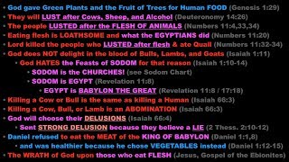 Lust for Flesh = Lust for MEAT (100% Bible Proof)