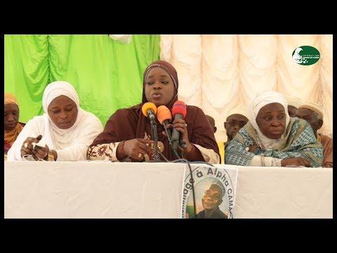 Extrait  Conference - Sayda Zaynab FALL  Le Repentir et le Retour vers ALLAH.