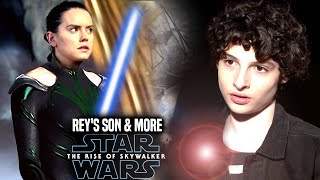 Rey's Son Is In The Rise Of Skywalker! Leaked Hints Revealed (Star Wars Episode 9)