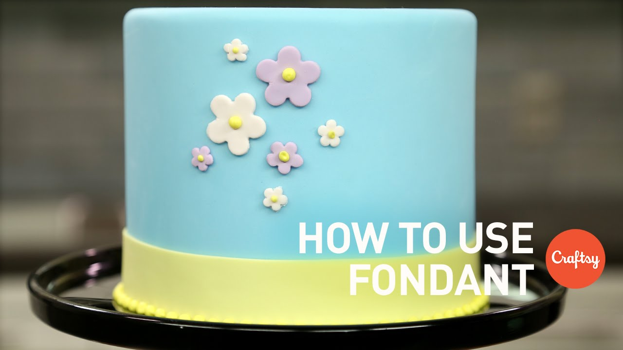 How to Use Fondant 4 Tips Cake Decorating Tutorial YouTube