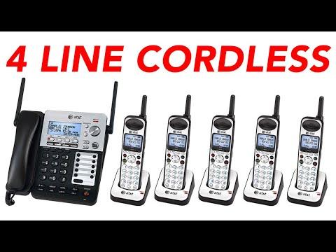 at&t-sb67138-4-line-cordless-phone-system-dect-6.0-range-extender