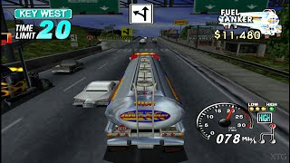 18 Wheeler: American Pro Trucker PS2 Gameplay HD (PCSX2)
