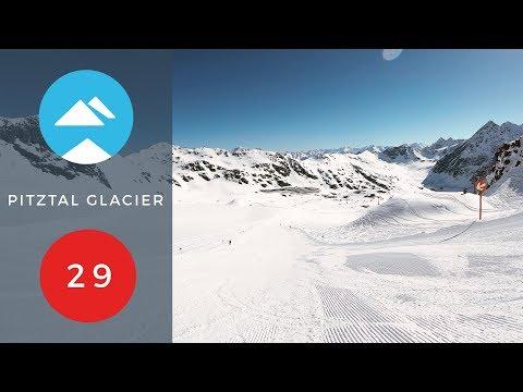 Red 29 | Pitztal Glacier, Austria | Piste View