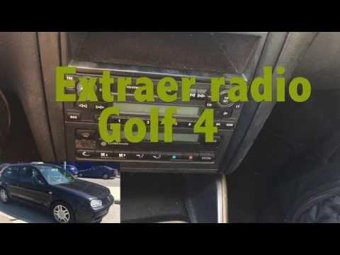 Cambiar radio Golf 4 IV