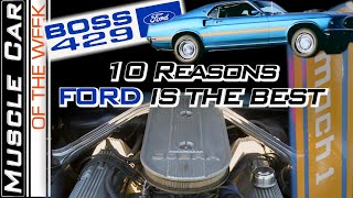 Top 10 Ford Muscle Car Traits - Muscle Car Of The Week Episode #353