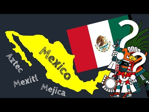 How did the Aztecs Name Mexico?