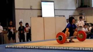 第11回全国高等学校女子ウエイトリフティング競技大会