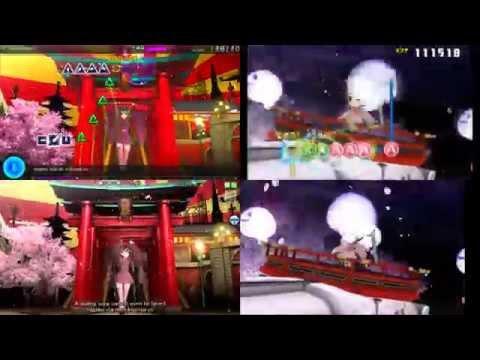 Citra 3DS Emulator - Hatsune Miku: Project Mirai DX ingame