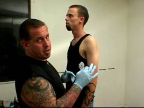 Beginning Tattooing Tips How To Apply Tattoo Stencil
