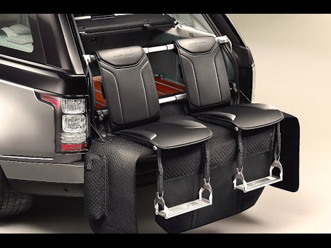 Range Rover Autobiography Black Interior >> Range Rover SV Autobiography INTERIOR 2016 Review Commercial New Autobiography Black CARJAM TV ...