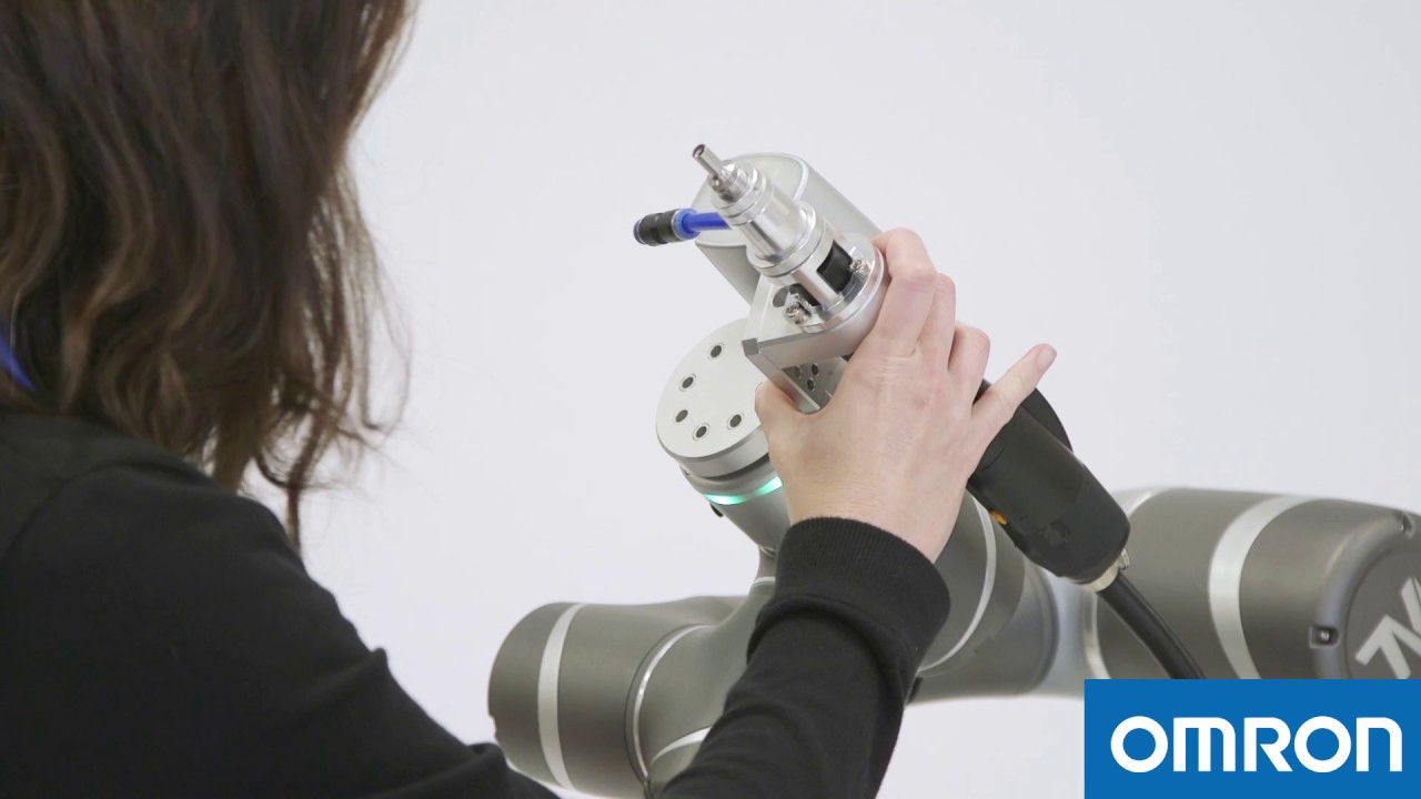 Omron Collaborative Robots Tutorial 4 – How to Attach a Gripper to the Cobot
