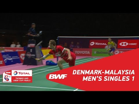 Thomas Cup | MS1 | Viktor AXELSEN (DEN) vs LEE Chong Wei (TPE) | BWF 2018