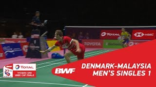 Download lagu Thomas Cup MS1 Viktor AXELSEN vs LEE Chong Wei BWF 2018 MP3