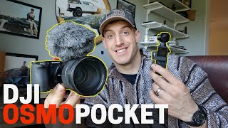 Changing The Way I Vlog | Can DJI Osmo Pocket Replace My DSLR?