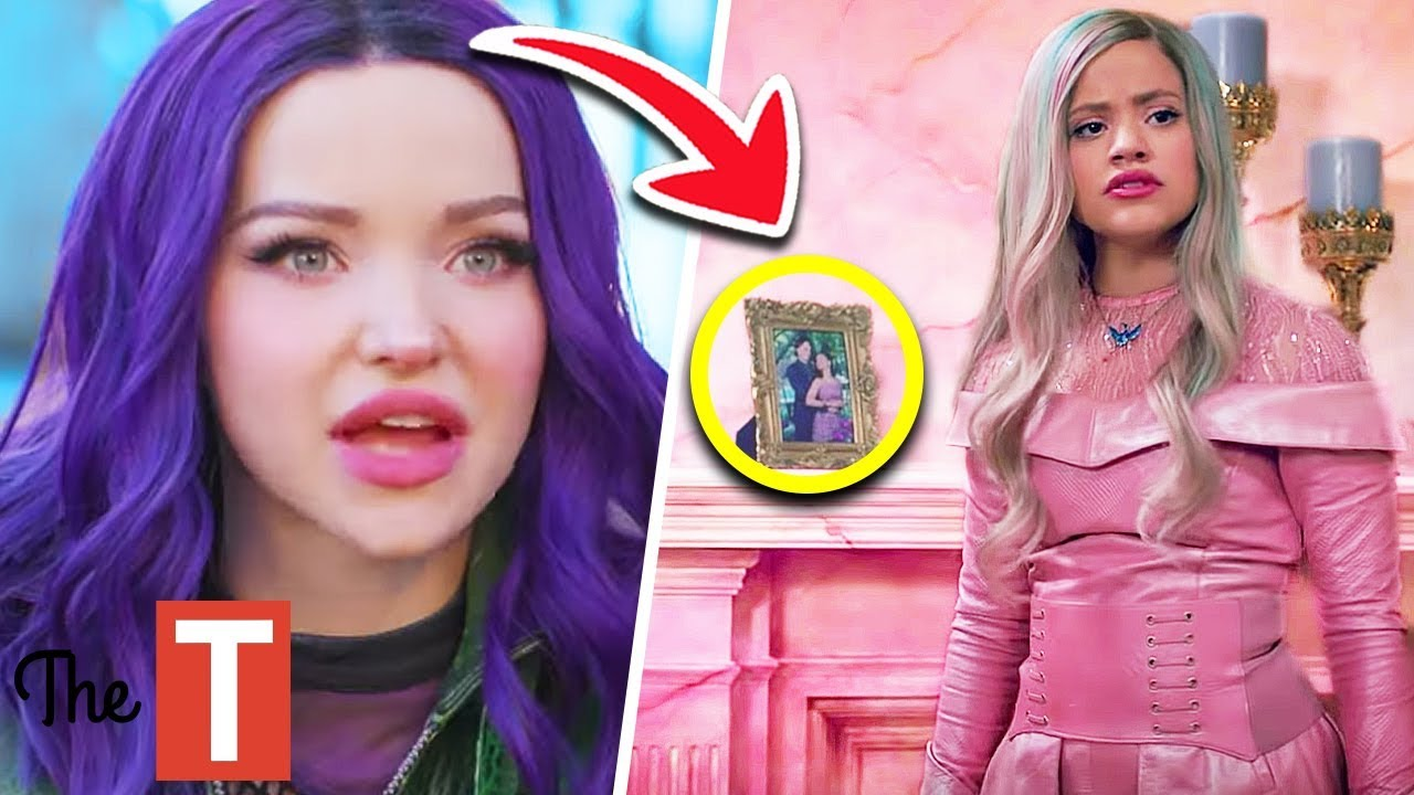 12 Things Everyone Missed In Descendants 3 Youtube