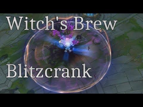 Witch's Brew Blitzcrank SkinSpotlight - League of Legends