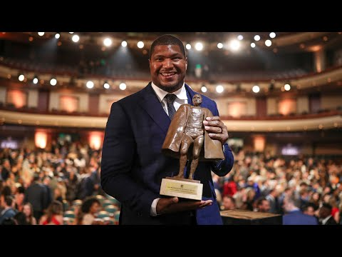 Jaguars Calais Campbell Walter Payton NFL Man of the Year acceptance speech
