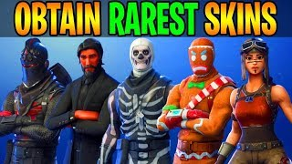 *NEW* Fortnite: OBTAIN RAREST SKINS IN THE GAME! (Fortnite Battle Royale) Account Giveaway Winner
