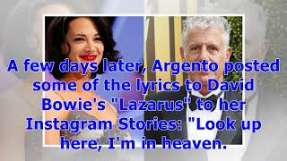 °Asia Argento Returns to Work After Death of Anthony Bourdain | Entertainment Tonight