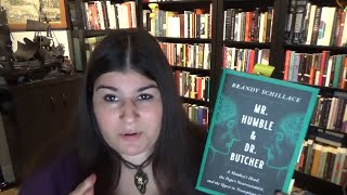 Mr. Humble & Dr. Butcher by Brandy Schillace | Book Review